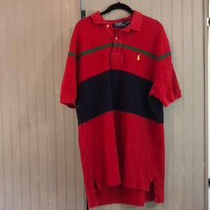 Polo by Ralph Lauren, XL Red Polo